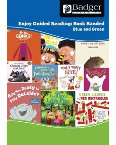 Enjoy Guided Reading Book Band - Blue and Green Teacher Book & CD