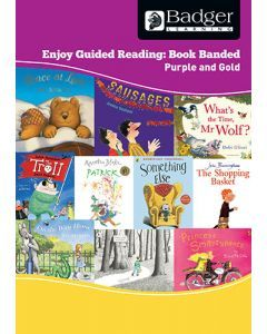 Enjoy Guided Reading Book Band - Purple and Gold Teacher Book & CD