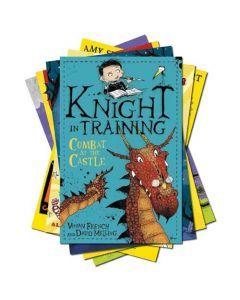 Age 7-9: Books for Boys to Enjoy (White to Grey)