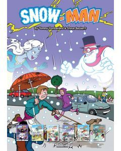 A3 Snow-Man Poster